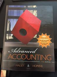 advanced accounting halsey u0026 hopkins 9781618531902 amazon com