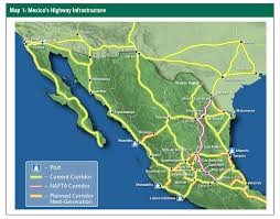 Juarez Mexico Map by Mexico U0027s Evolving Network Of Modern Interstate Roadways Prologis