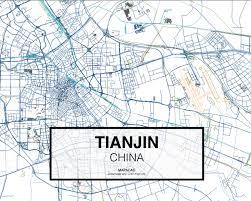 Tianjin China Map Download Tianjin Dwg Mapacad