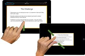 business productivity how to present using powerpoint for ipad