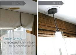discount pendant light to recessed light design ideas 69 in adams