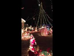 crazy christmas tree lights crazy christmas lights display with beautiful tree entertainment