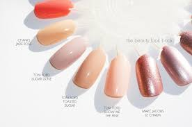 the beauty look book tom ford spring nail polish comparisons to