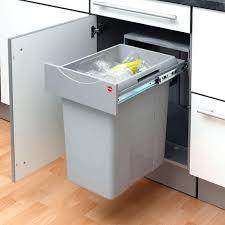 poubelle pour cuisine poubelle sous evier 30l poubelle de cuisine monobac pour la gestion