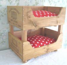 Cat Bunk Bed Wooden Crate Cat Bunk Beds Would This Make Me A Cat