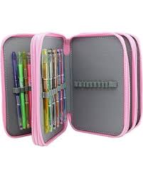 pencil cases new savings on large capacity multilayer pencil holds 72