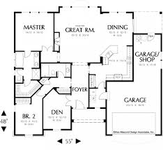 simple 1 story house plans simple one story open floor plans