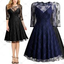 retro cocktail party womens retro 1950s cocktail formal evening party prom lace