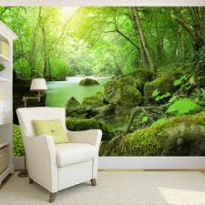 compare prices on forest green bedding online shopping buy low custom 3d photo wallpaper forest stones green landscape photography background backdrop modern wallpaper for living room