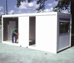 bureau préfabriqué bâtiment préfabriqué modulaire pour bureau en métal iris