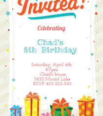 printable birthday invites printable birthday invites completed