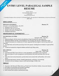 Sample Paralegal Resume by Sydney Hosley Sydhosley On Pinterest