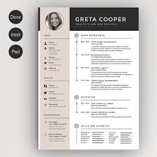 creative resume templates for microsoft word resume cv springfield creative resume by suarez resume template clean cv resume ii creative resume