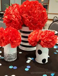 banquet centerpieces cheer banquet ideas uncommon designs