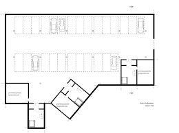 Multi Unit House Plans Archidoom Multi Unit Residential Week 5th Floor Plans And Section