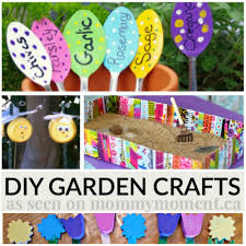 diy garden crafts perfect for summer mommy moment