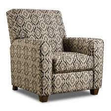 furniture decoration with reclining wing chair with motif batik