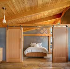 Red Barn Doors by Bedrooms Small Bedroom With Red Barn Sliding Door And Vintage