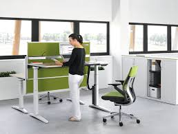 Sit Stand Office Desk Sit Stand Height Adjustable Desks Style