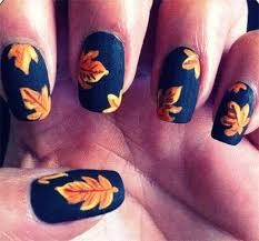 50 eyecatching fall nail designs for thanksgiving ideas lucky