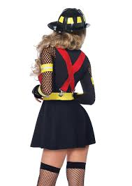 red fire captain costume