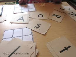 build your own bingo games uppercase and lowercase letter match
