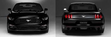Black Mustang Gt 2015 2015 Mustang Render In Black 2015 Mustang Forum News Blog S550