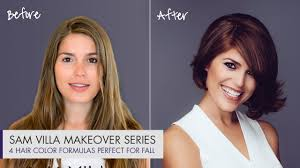 4 hair color formulas perfect for fall exclusive makeover before
