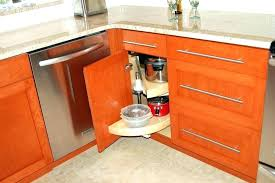 Kitchen Corner Cabinet Storage Solutions Corner Cupboard Storage Corner Kitchen Cabinet Storage Kitchen