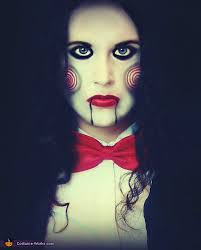 Saw Costume Saw Movie Billy The Puppet Halloween Costume
