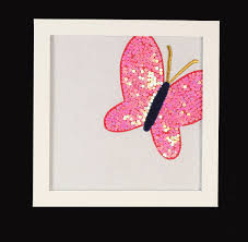 butterfly tunes coral butterfly wall frames peek a boo patterns