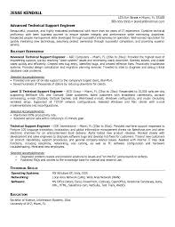 resume examples sample of computer technician within for 19