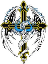 tattoo cross dragon dragon cross tattoo by bighood24 on deviantart