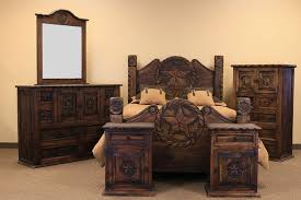 Country Bed Sets Luxurious Rustic Bed Sets Furniture For Classic Room Decoration