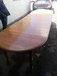 Table Ronde Blanche Avec Rallonge Pied Central by Tables Rondes Tables Www Tablelouisphilippe Com