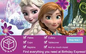 frozen party supplies birthday express frozen party supplies in stock now plus