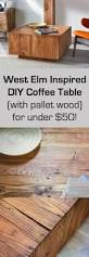 Diy Coffee Tables by West Elm Inspired Diy Coffee Table Diycandy Com