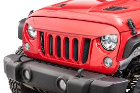 jeep wrangler front grill cliffride 19026 catway front grill for 07 17 jeep wrangler jk