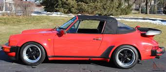 porsche convertible 911 s targa 930 wide body add on 3 2 motor convertible