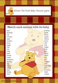winnie the pooh baby shower winnie the pooh baby shower match baby animals eppingprintables
