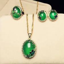 jade ring necklace images Yu xin yuan fine jewelry cloisonne green jade jewelry ring of jpg