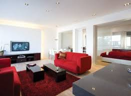 enchanting color combination ideas of red living room chairs artenzo