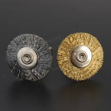 steel copper wire brush wire wheel brush for grinder dremel rotary