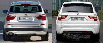 photo comparison old vs new bmw x3