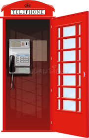 telephone booth london telephone booth stock vector image of britain 95448732