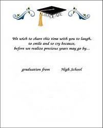 graduation thank you cards graduation thank you card template template
