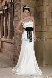 informal wedding dresses white with black affordable informal wedding dresses gg1003