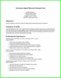 Insurance Representative Resume Insurance Agent Resume Sample Virtren Com Medical Sales Resume