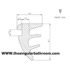shower door and bath screen seals magnetic seal strip magnetic