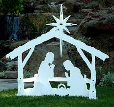 nativity outdoor large outdoor christmas nativity set by mynativity 3